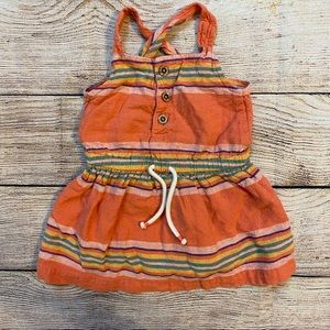 3/$12 Carter's southwestern Baja dress 6 m